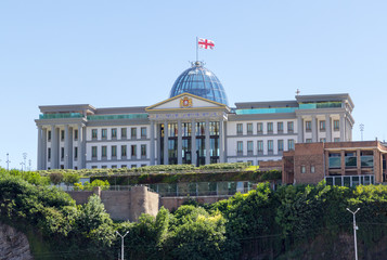 Presidential palace in Tbilisi, Republic of Georgia
