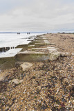 Lepe Beach – launch site for WWII Mulberry Harbours.