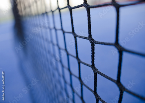 paddle tennis or tennis net