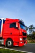 Roter Lastkraftwagen, Führerhaus