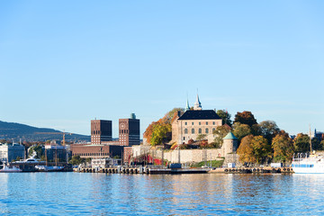 Akershus Fortress and radhuset