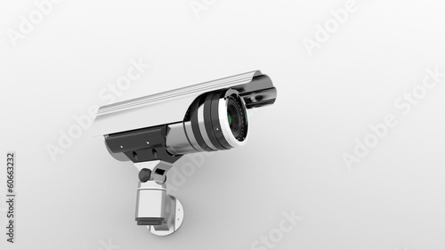 Surveillance Camera, loop animation