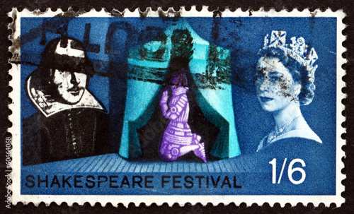 Postage stamp GREAT BRITAIN 1964 Shakespeare Festival