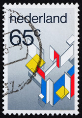 Postage stamp Netherlands 1983 Modern Art Movement