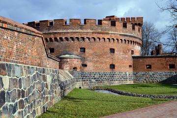 German fort Der Dohna. Kaliningrad (until 1946 Koenigsberg)