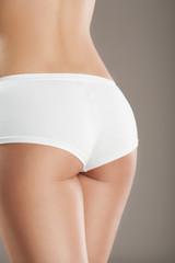 Sexy female buttocks