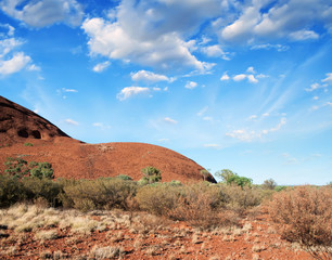 Australia. Wonderful colors of the Outback in August