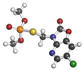 Azamethiphos pesticide molecule. Used in flypaper, etc.