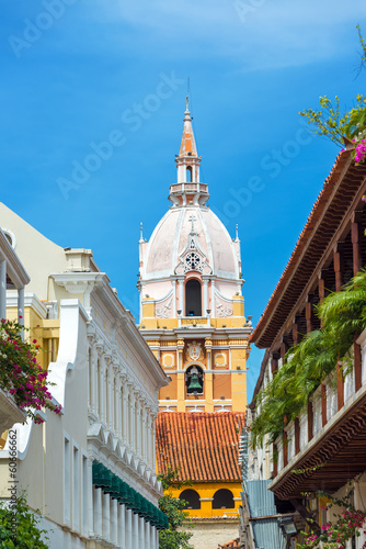 Vertical Cartagena Cathedral