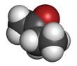 Постер, плакат: Butanone methyl ethyl ketone MEK industrial solvent