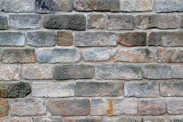 Sandsteinfassade antik