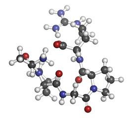 Enterostatin signaling peptide molecule.
