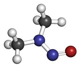 N-Nitrosodimethylamine (dimethylnitrosamine, NDMA, DMN) pollutan