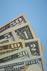 Us dollars bill