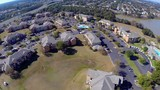 Aerial video of a residential housing community