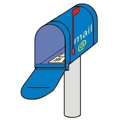 mailbox vector drawing