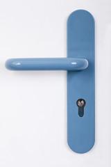 Modern Blue Door Handle
