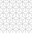 Seamlees Abstract Hexagon Background