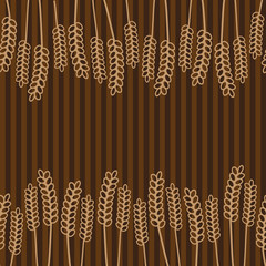 grain brown pattern eps10