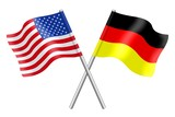 Flags: the United States and Germany