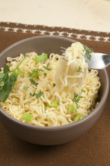 Fast cooking noodles