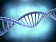 DNA molecule over abstract background