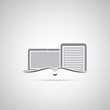 E-Book Icon Design