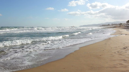 Storm on the Mediterranean Sea