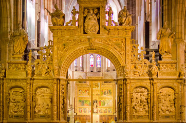 trascoro de la catedral de Leon
