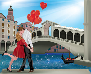 Saint Valentine in Venice