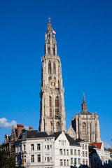 Cathedral of Our Lady in Antwerp, Belgium.