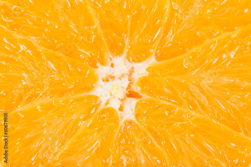 macro photo of an orange fruit © romantsubin