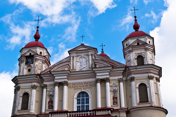 St. Peter and St. Paul Church in Vilnius, Lithuania