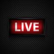 Live message  studio sign - 60680276