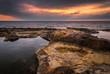 Rocky Beach at Morning