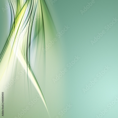 Fotobehang Abstract wave abstract eco background design with space for your text