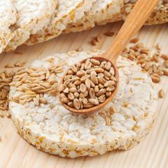 grain Crispbread cracker
