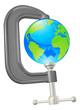 Clamp globe concept