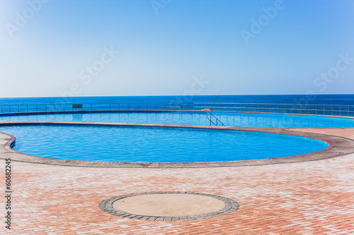 Swimming Pools Beach Blue Ocean