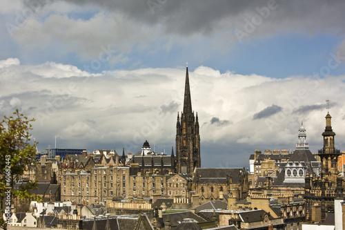 canvas print picture Edinburgh 1