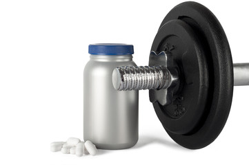 proteins and weights.