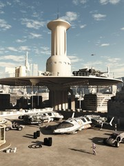 Future City Spaceport