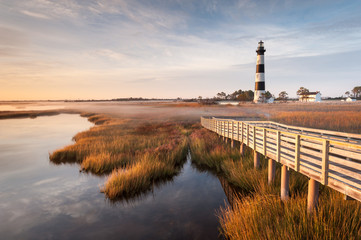 Bodie Island Lighthouse Boardwalk Outer Banks