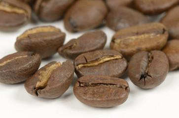 geröstete bio-arabica Kaffeebohnen