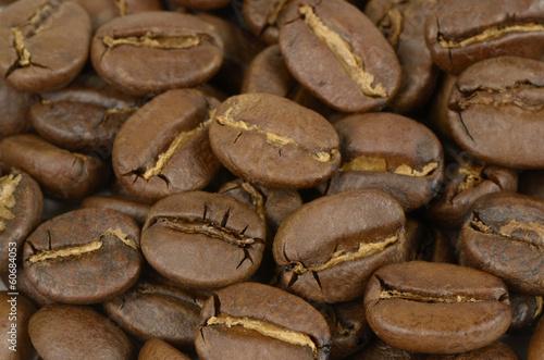 geröstete Bio-Kaffeebohnen