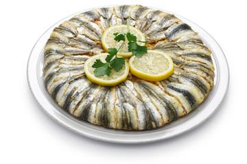 anchovy pilaf(hamsi pilav), Turkinsh cuisine