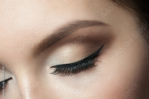 canvas print picture Eye Makeup