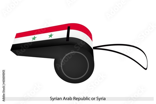 A Whistle of The Syrian Arab Republic