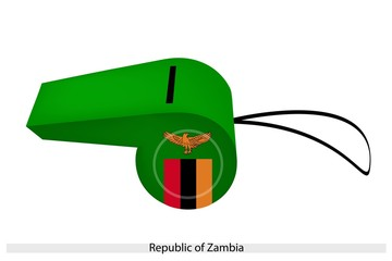 A Whistle of The Republic of Zambia