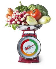 Régime Perte de Poids Balance de Cuisine Légumes